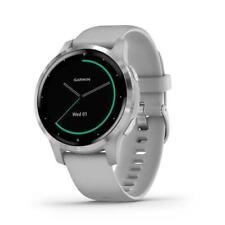 Garmin Vivoactive 4s Multisport Smartwatch HR GPS Sports Watch - Powder Grey
