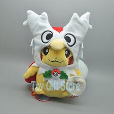 "Pikachu Delibird Poncho 8"" Poke Plush Doll Stuffed Toy"