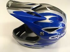 GIRO : REMEDY : FULL FACE HELMET : BLUE/ SILVER : LARGE : 59-63CM