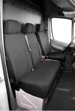 Passform-Sitzbezug Maßanfertigung Schonbezug schwarz für MB Sprinter, VW Crafter