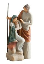 NEW Willow Tree Christmas Story Nativity Set The Holy Family Mary Joseph Jesus