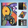 GRAFFITI WALL ART #1 FLIP PASSPORT WALLET ORGANIZER COVER HOLDER
