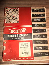 1945 Thermoid Rubber Products Dealer Catalog Car Mats Fan Belts Radiator Hoses