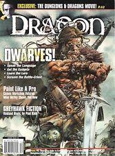 D&D d20 3rd Edition Dungeons & Dragon Magazine #278 Dwarven Secrets & History!