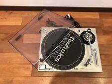Technics SL-1200MK3D Silver color Analog DJ Turntable w/ cartridge