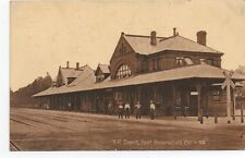 1911 Postcard of the Southern Pacific Railroad Depot at Bakersfield CA