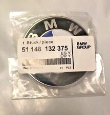 Fit BMW 74mm Emblem Rear Hood Trunk Badge Roundel 2pins 2.9 inch e60 e63 F10 e46