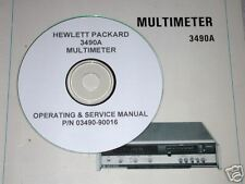 Hp 3490A Operating & Service Manual