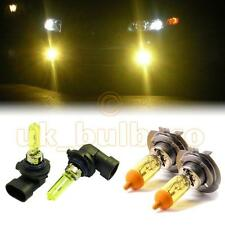 YELLOW XENON LOW + HIGH BEAM BULBS FOR Opel Zafira MODELS H7HB3