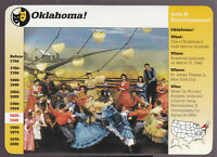 OKLAHOMA! Broadway Play Theatre Cast Photo GROLIER STORY OF AMERICA CARD
