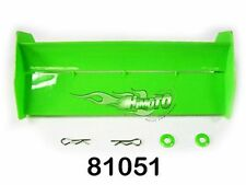 81051 ALETTONE RICAMBIO X BUGGY TRUGGY + CLIPS 1:8 SPOILER TAIL WING HIMOTO