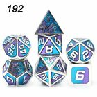 Dnd Dice Metal Rpg Set Polyhedral Dungeons And Dragons Table Game Dices Pattern