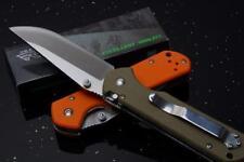 Sanrenmu Land 910 Plus Pocket EDC Folding Knife  G10 Handle,blade lock
