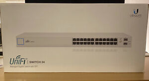 UniFI UBIQUITI Switch 24 Porte Gigabit Ethernet + 2 Porte SFP. No PoE. [US-24]