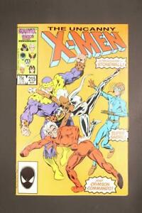 X-Men # 215 - NEAR MINT 9.4 NM - Wolverine Colossus Cyclops Storm MARVEL