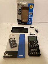 New ListingTexas Instruments Ti-85 Graphing Calculator in opened box 1995 Vintage