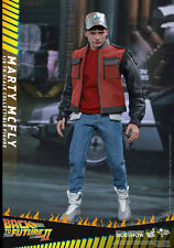 MARTY McFLY (Back To The Future Part II) michael J fox 1/6 Hot Toys UK SHIPPED