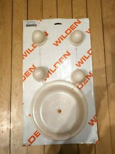 """WILDEN 04-9804-56 WET REPAIR KIT, 1.5"""" CLAMPED/BOLTED METAL, HYTREL"""