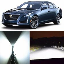 Alla Lighting High Beam Headlight 9005XS White LED Bulbs for 03~07 Cadillac CTS