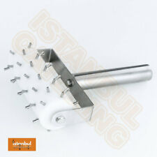 More details for full size dough roller docker with stainless steel handle