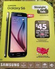 Samsung Galaxy S6 32GB Straight Talk 4G LTE SmartPhone + 1 yr mfg warranty