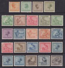Belgian Congo - SG 117/40 - m/m - 1923 - Native Types