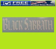BLACK SABBATH BAND Vinyl Window DECAL STICKER Heavy Metal OZZY Rock