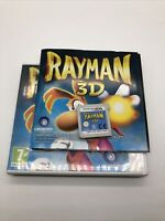 Rayman 3D (Nintendo 3DS, 2011) Complete With Manual