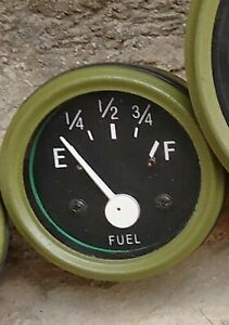 Willys MB Jeep Ford GPW CJ Fuel Gauge for sender 90 ohms Empty - 10 ohms Full