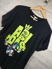 Vtg Graffiti Adidas Mad skill neo Tag  black Graphic T Shirt XL