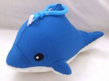 Snow Foam Micro Beads Dolphin Cushion/Pillow Backpack/Purse Clip-Brand New!