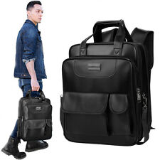 Men's Women Vintage Backpack School Laptop Travel Bag Loras Bag Rucksack Satchel