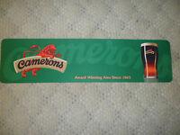 CAMERONS lager  Beer Drink Pub Bar Non Slip Rubber Mat Runner