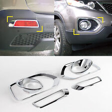 Chrome Fog Light Lamp Molding 6p Advanced Reflector for KIA 2010-2012 Sorento R