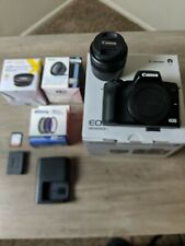 Canon EOS M50 Mirrorless Camera with 15-45mm STM Lens - Continuous Power bundle
