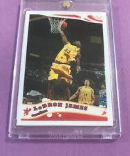 2005-06 TOPPS CHROME LEBRON JAMES CARD #102