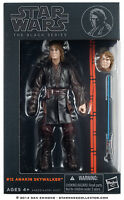 "Star Wars Hasbro Black Series 6"" Inch Action Figure #12 Anakin Skywalker Rare"