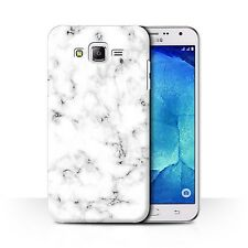 STUFF4 Back Case/Cover for Samsung Galaxy J7/J700/Marble Rock Granite Effect