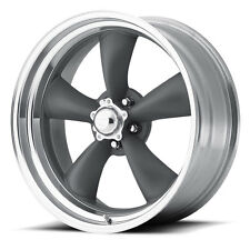 "4-NEW American Racing VN215 Torq Thrust II 15x7 5x127/5x5"" -6mm Gray Wheels Rims"