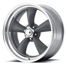 "4-NEW American Racing VN215 Torq Thrust II 15x7 5x127/5x5"" -6mm Gray Wheels Rims"