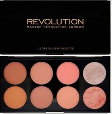 Makeup Revolution Powder Blushes Highlight Bronzer Contour Palette Hot Spice