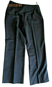 Ladies size 10 black Trousers sit-on-the-waist stretch RRP £16.50 BNWT