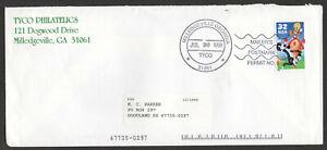 US #3204, Looney Tunes Sylvester & Tweety, Mailer's Postmark Permit.