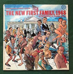New First Family 1968 Futuristic Fairy Tale Comedy Album record LP Mort Drucker