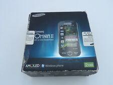 Telefono smartphone cellulare SAMSUNG Omnia II I8000 - storico