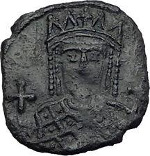 IRENE & CONSTANTINE VI 792AD Constantinople RARE Ancient Byzantine Coin i65275