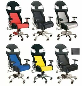 Chair - Pitstop LXE Office Chair * Awesome Racing Styled Furniture FREE US SHIP!