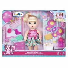 Baby Alive Butterfly Party Blonde Doll ToyRus exclusive New