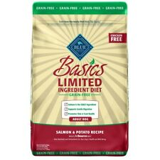 Blue Buffalo Basics Limited Ingredient Diet Natural Adult Grain Free Salmon & Po