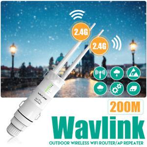 2.4G Wavlink Extérieur sans Fil Accès Extendeur / Répéteur Wi-Fi Long Gamme